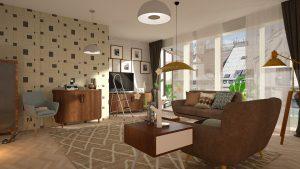 Wohnzimmer Sofa Couch Tisch