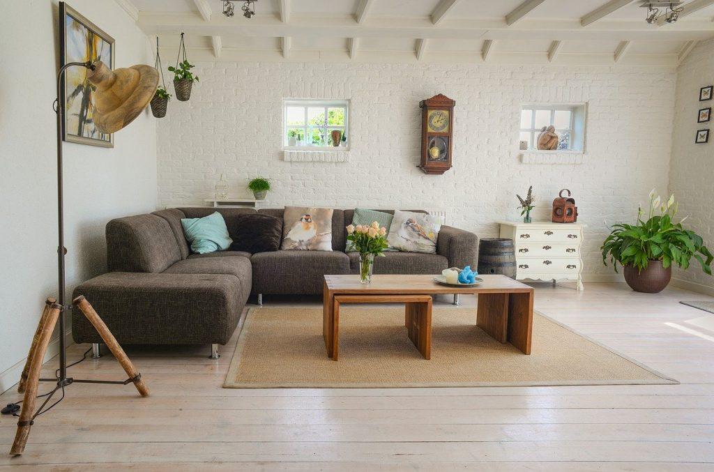 Wohnzimmer Boden Sofa