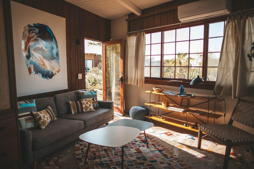 Wohnzimmer Tisch Sofa