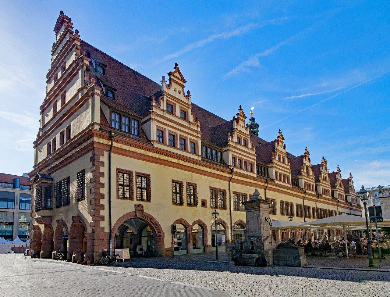 Altbau altes Rathaus Leipzig