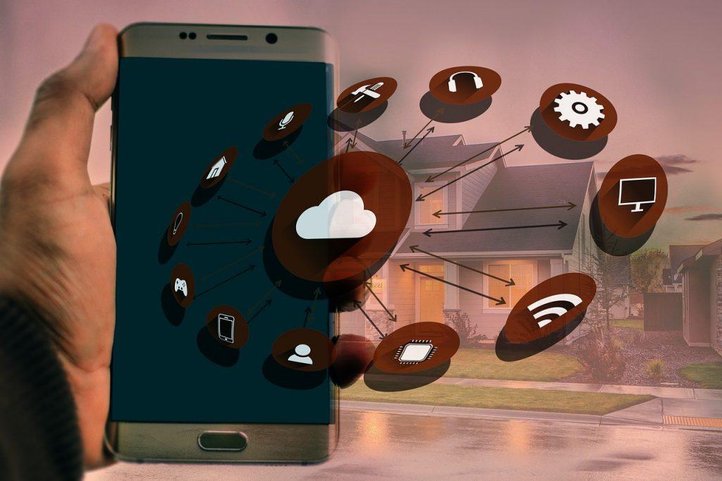 Smart Home Smartphone Steuerung