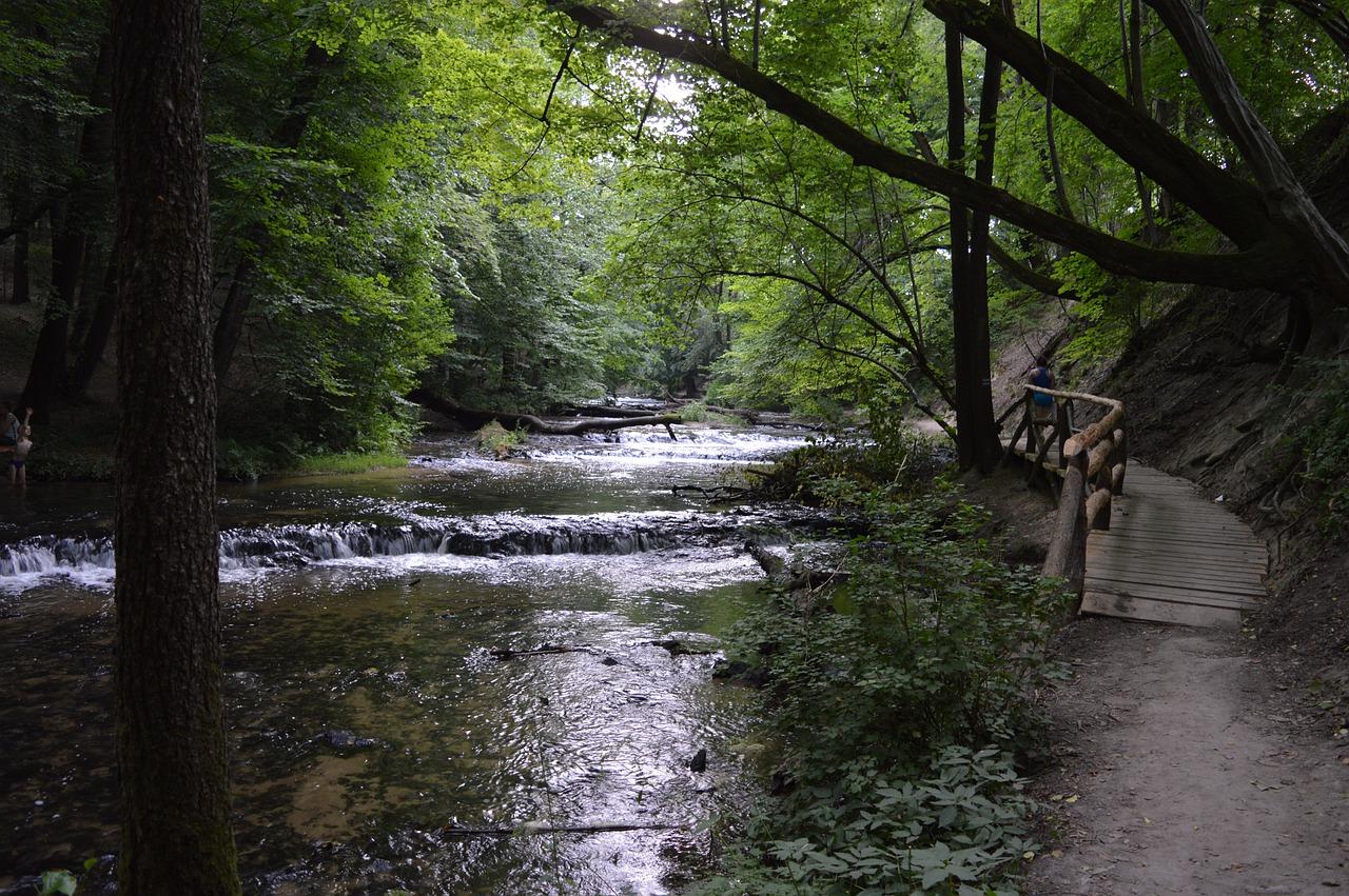 Fließgewässer Geräusche Fluss